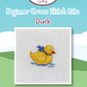 Duck Beginner Cross Stitch Kit