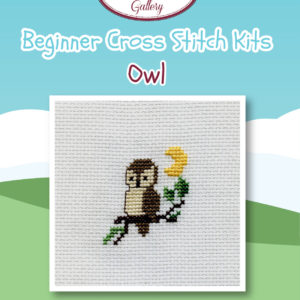 Owl Beginner Cross Stitch Kit
