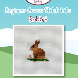 Rabbit Beginner Cross Stitch Kit