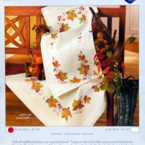 40 x 100cm Autumn Leaves Table Runner